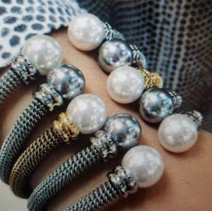 Gorgeous Majorica Pearl Cuff Bracelet